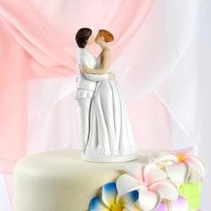 Gleichgeschlechtliche Harz Hochzeit Torten-Dekoration