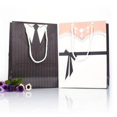 Smoking y del Vestido Bolsos de regalos (Juego de 12)