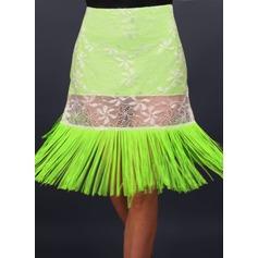 Donna Abbigliamento danza Dello spandex Pizzo Ballo latino Pantaloni