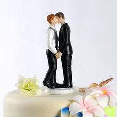 Samme Køn Resin Bryllup Kage Topper