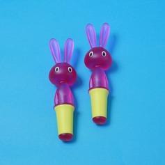 Jolie design de lapin Bouchons de bouteille