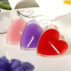 Heart Design Small Candle(set of 12)(096017647)
