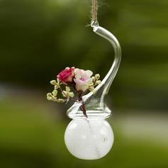 Artistique pendaison gentil Verre Vase