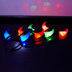 Changement de Couleur Oxhorn bande de cheveux Éclairage LED (lot de 4)