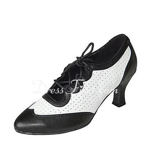 ricco e magnifico Più affidabile prezzo ufficiale [€ 65.66] Donna Vera pelle Tacchi Stiletto Moderno Sala da ballo Swing  Prova Scarpe da ballo - JJsHouse