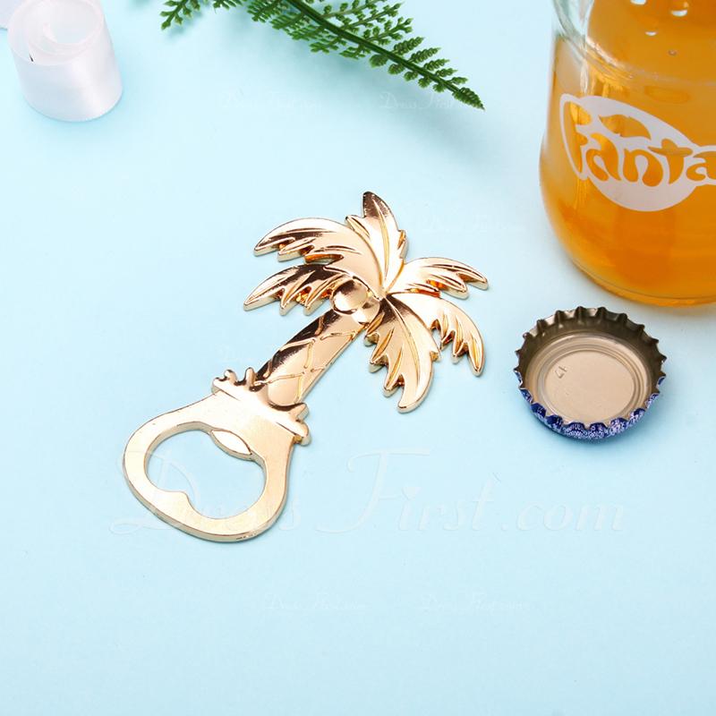 Palm trees Zinc Alloy Bottle Openers (Set of 4)