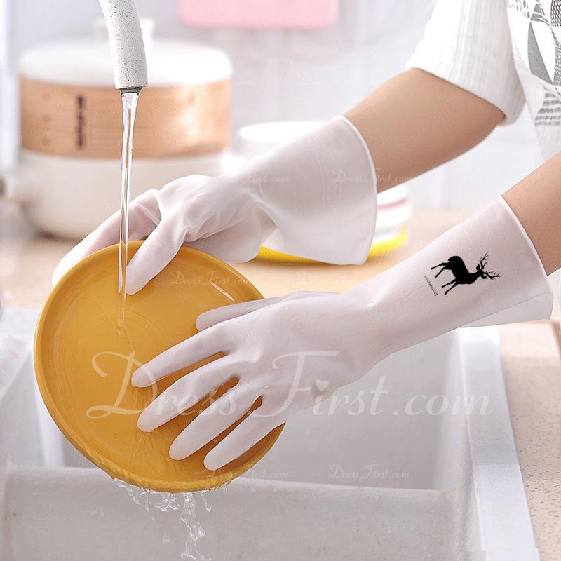 Casual klasický PVC Čisticí rukavice (Sada 2ks)