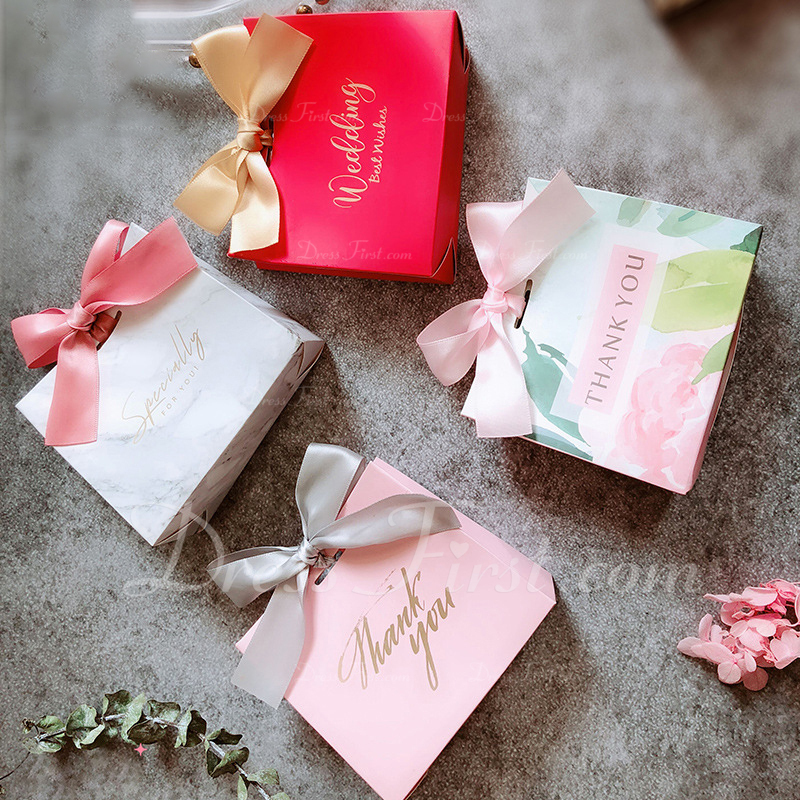 Creative/Classic Handbag shaped Card Paper Favor Bags With Ribbons (Set of 20)