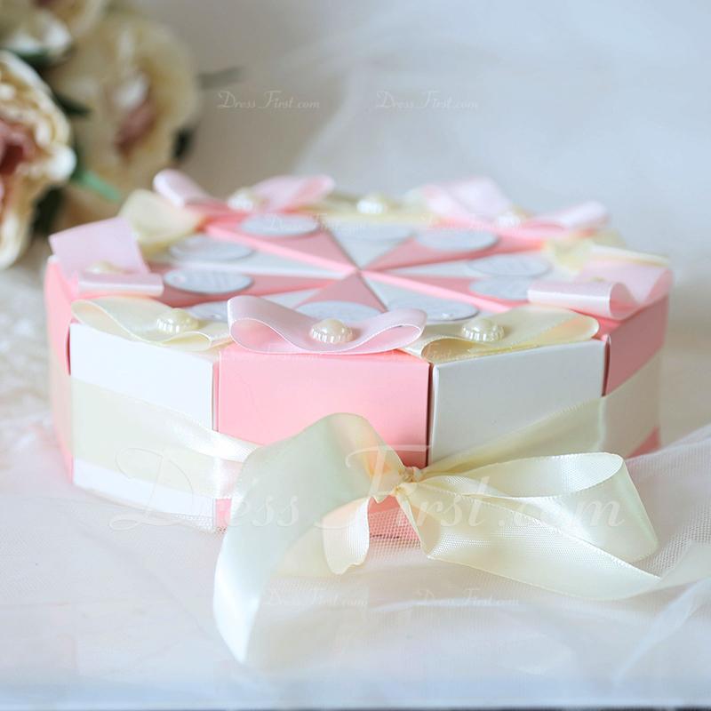 永遠の愛 立方体 カード用紙 記念品ボックス とともに フラワーズ 10点セット