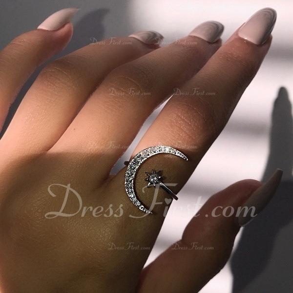 Modisch Legierung Frauen Mode Ringe (Sold in a single piece)