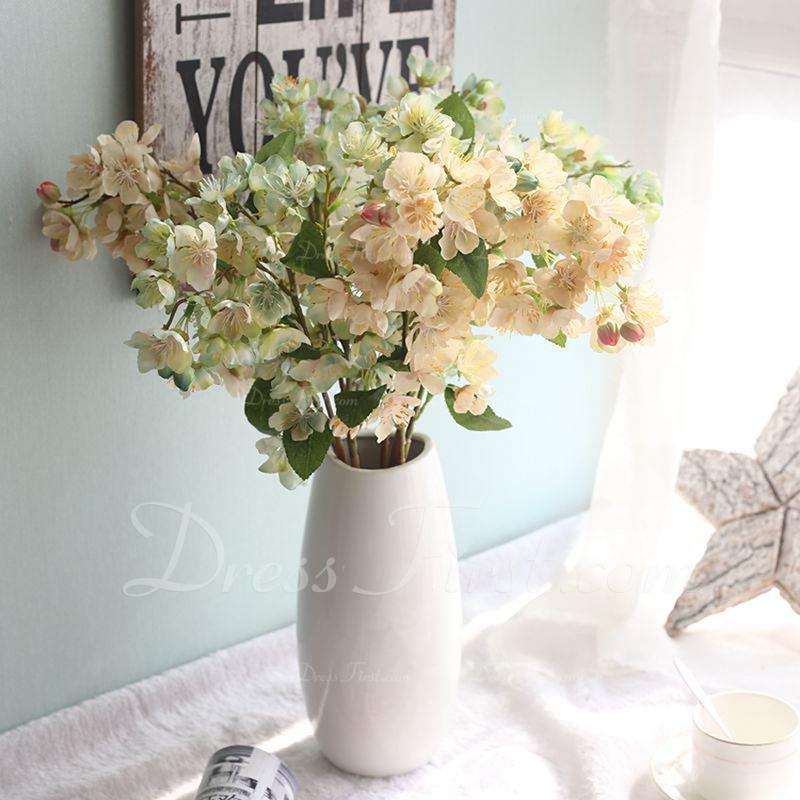 """Enkel/Fin """"Vakker blomst"""" Klut Kunstige Blomster (sett av 4)"""