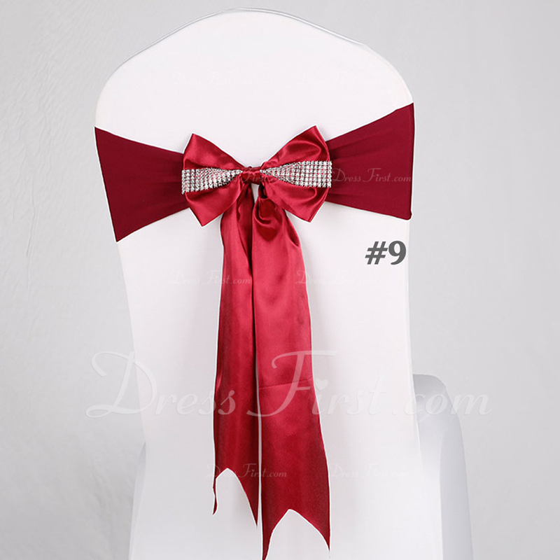 Cloth Chair Ribbon Sash Chair Ribbon Sash (set of 10)