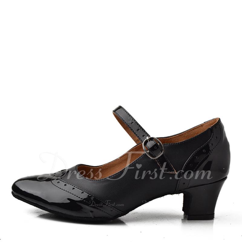 Femmes Similicuir Talons Latin Chaussures de danse