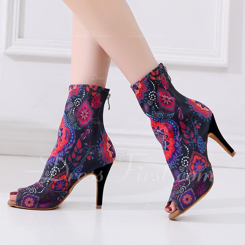 Dla kobiet Skóra ekologiczna buciki do butów Buty do Tańca