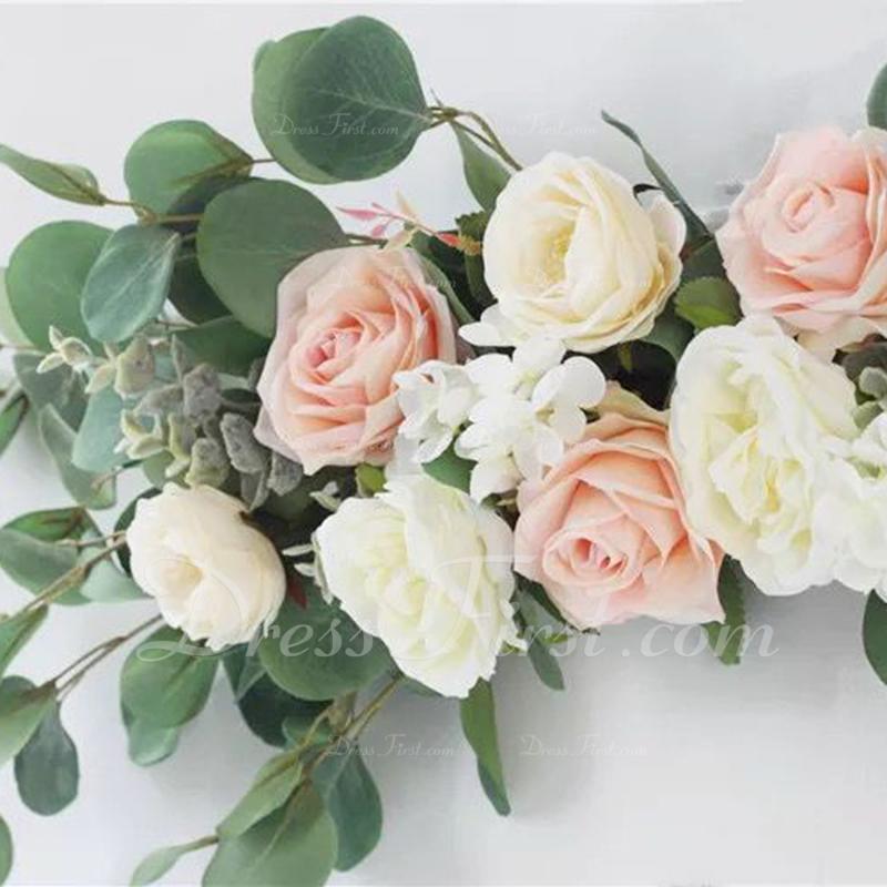 Fin Nydelig/Vakkert Kunstige Blomster Bryllupsdekorationer