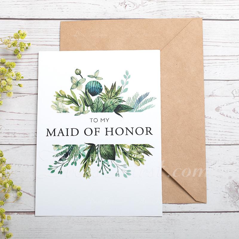 ウエディングギフト - 美しい カード用紙 ウェディングデイカード