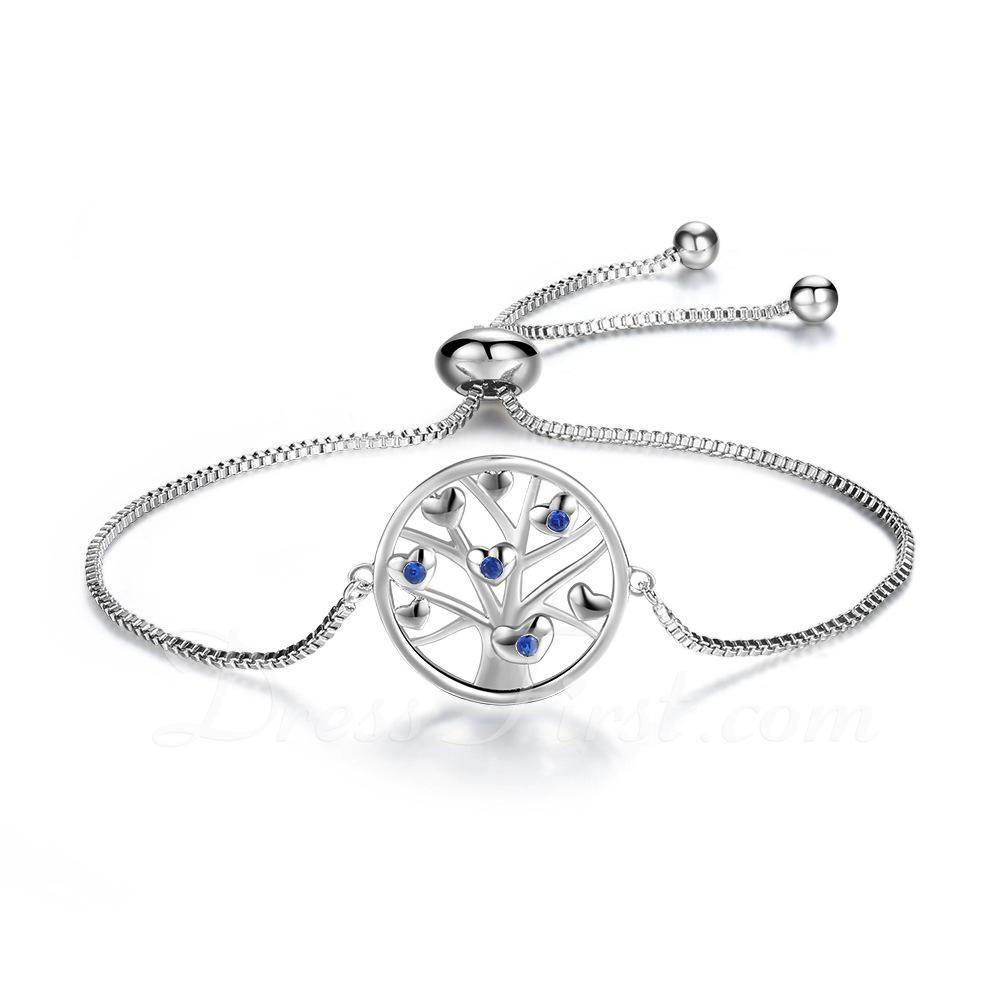 Link & Chain Bransoletki dla nowożeńców Bransoletki Bolo Z drzewo - Walentynki Prezenty Dla Niej