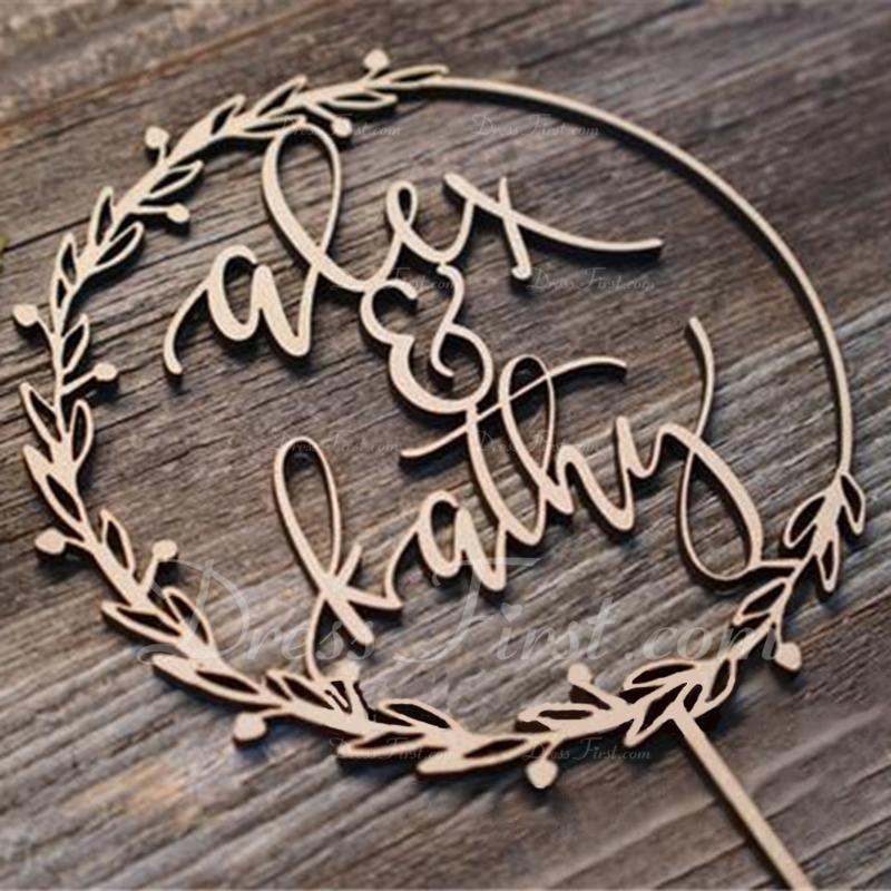 Klasický Akryl/Dřevo Ozdoby na dort