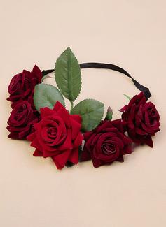 Velvet Flower Headband