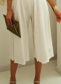 Solid Ærmeløs Midi Party Elegant Jumpsuits Mode kjoler