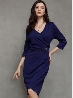 Bawełna Asymetryczny Sukienka