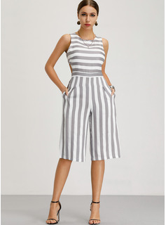 Bawełna/Bielizna Z Wydrukować Midi Sukienka