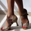 Femmes Similicuir Latin Chaussures de danse