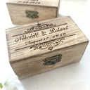 Groom Gifts - Personalized Elegant Wooden Ring Box (257186415)