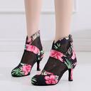 Femmes Satiné Talons Salle de bal Chaussures de danse