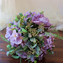 Comely Free-Form Silk Flower Bridal Bouquets - Bridal Bouquets