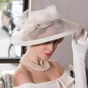 Señoras' Glamorosa Batista Bombín / cloché Sombrero/Derby Kentucky Sombreros/Sombreros Tea Party