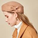 Ladies' Glamourous/魅力的な/ロマンチック ウール とともに ちょう結び ベレー帽子