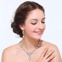 Bride Gifts - Beautiful Alloy Rhinestones Jewelry Set (255170442)
