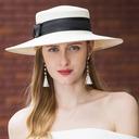 Señoras' Hermoso/Elegante Papiro Sombrero de paja/Sombreros Playa / Sol