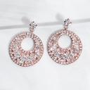 Señoras' Elegante Diamantes de imitación Pendientes Ella/Amigos/Novia/La dama de honor/Niña de las flores