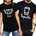 Regalos De La Novia - Lona Estilo Simple Algodón Camiseta