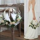 Elegante Redondo Flores de seda/ropa de seda Ramos de novia/Decoraciones -