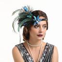 Señoras' Glamorosa/Único/Asombroso/Llamativo Pluma con Pluma Tocados/Derby Kentucky Sombreros/Sombreros Tea Party