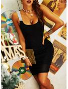 Payetler Conică Kolsuz Mini Parti Sexy Moda Elbiseler