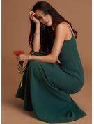 Sheath V-Neck Sleeveless Maxi Elegant Dresses