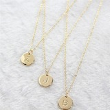 Bridesmaid Gifts - Personalized Attractive Special Alloy Necklace
