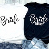 Presentes Da Noiva - Sexy Simples Algodão Camiseta
