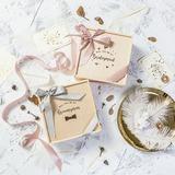Cadeaux De Demoiselle D'honneur - En Bois Satiné Boîte cadeau / sac