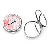 Brudepige Gaver - Personaliseret Særlige Enkle Iøjnefaldende Rustfrit Stål Kompakt Spejl