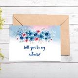 Družička Dárky - Atraktivní Speciální Eye-lov papírový papír Svatební denní karta (Množina 2)