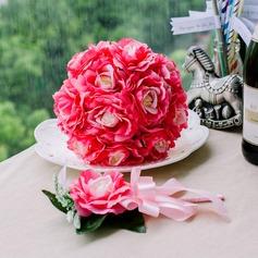 Charme Redondo Cetim Conjuntos de flores