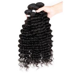 4A Non remy Profond les cheveux humains Tissage en cheveux humains (Vendu en une seule pièce) 50 g