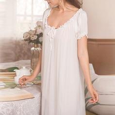 Bomull/Elastan Brud/Feminin Nattkläder