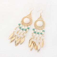 Gorgeous Legering Akryl Pärlor Damer' Mode örhängen