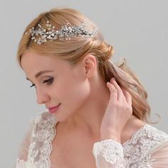 Damen Schöne Legierung Kämme und Haarspangen mit Strass/Venezianischen Perle (In Einem Stück Verkauft)